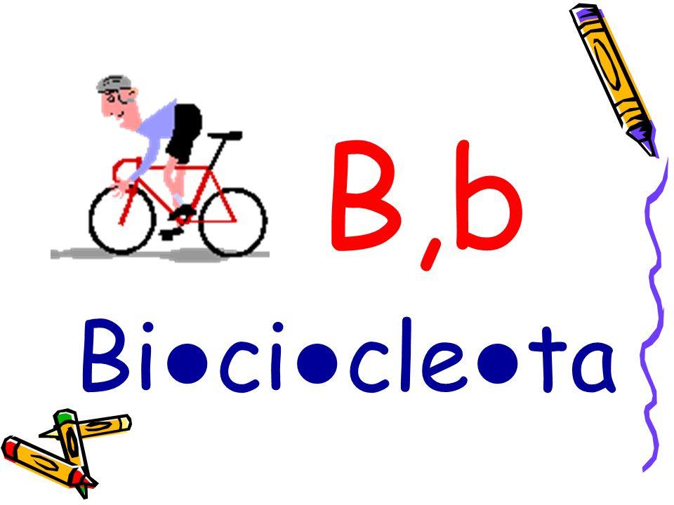 B,b Bi ci cle ta