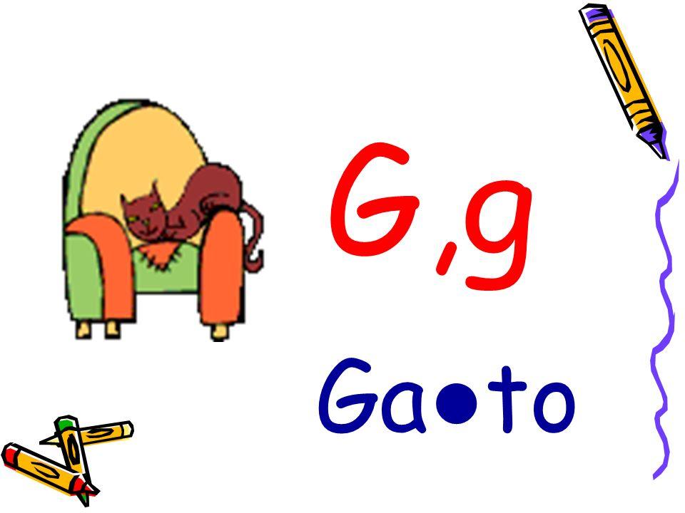 G,g Ga to