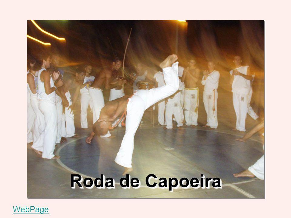Roda de Capoeira WebPage