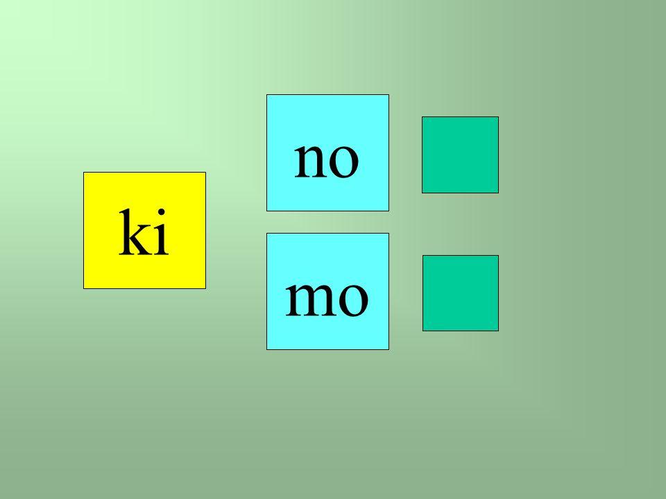 ki mo no