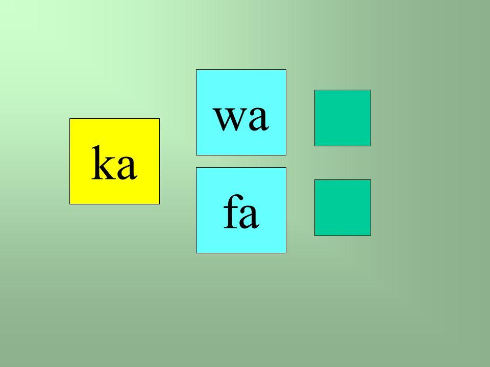 fa ka wa