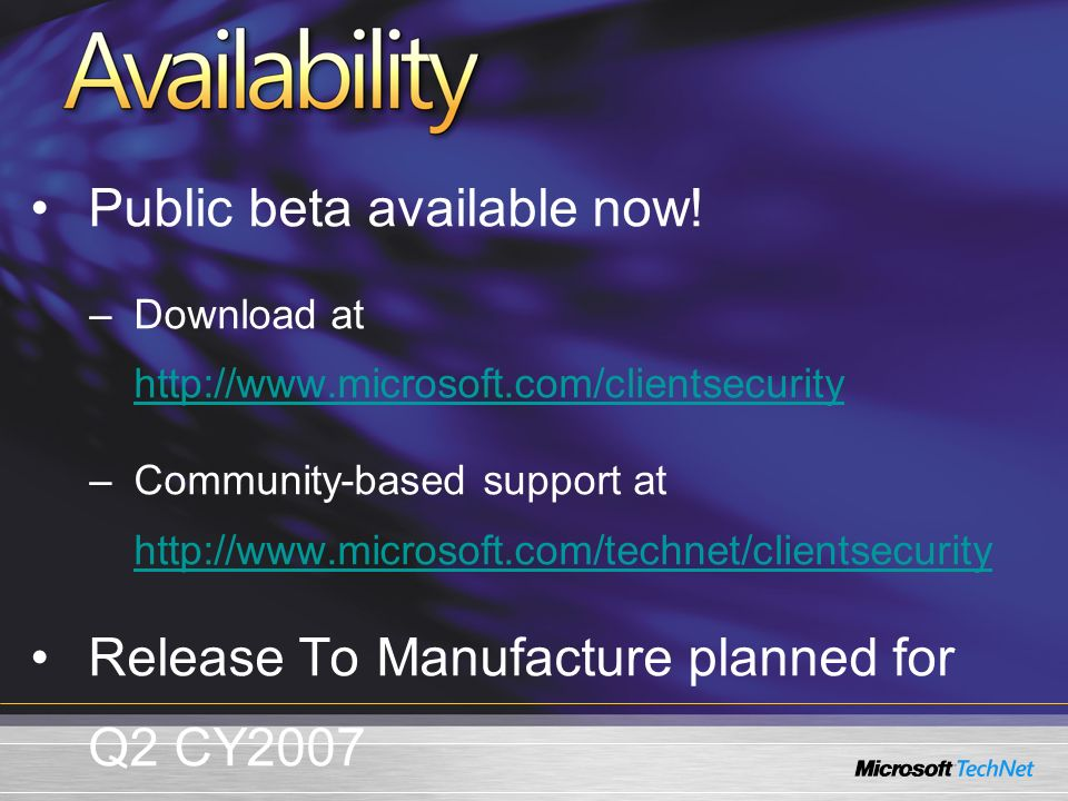 Public beta available now.