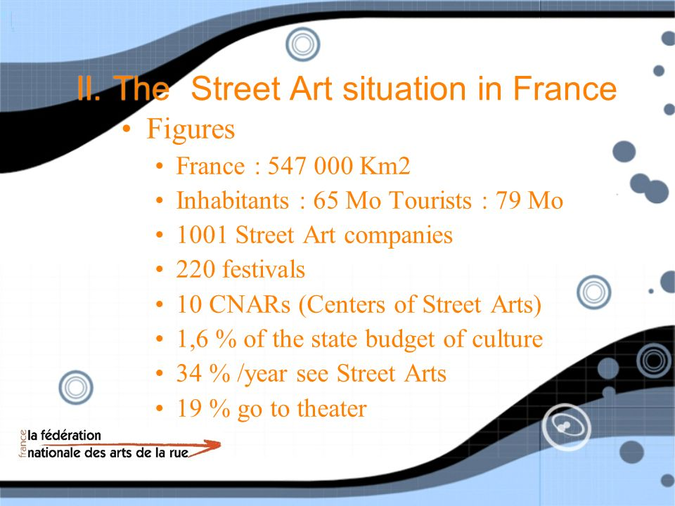 II.The Street Art situation in France How doest it work .