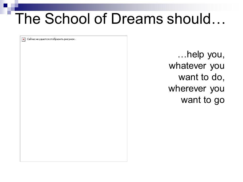 The School of Dreams should… …teach fair play rules