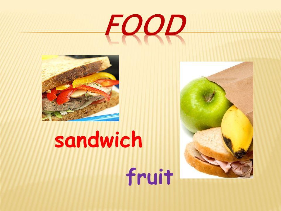 sandwich fruit