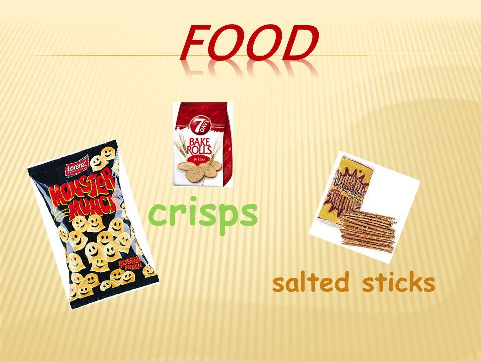 crisps salted sticks