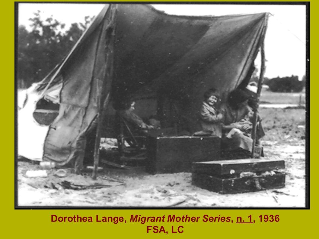 Mason-Dixon Map, 1861 Dorothea Lange, Migrant Mother Series, n. 1, 1936 FSA, LC