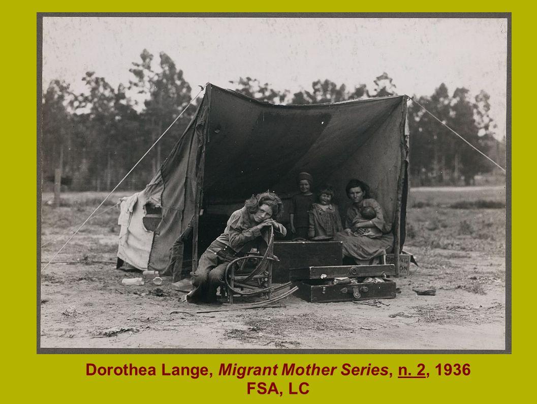 Mason-Dixon Map, 1861 Dorothea Lange, Migrant Mother Series, n. 2, 1936 FSA, LC