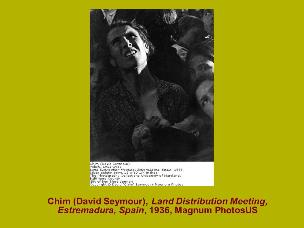 Chim (David Seymour), Land Distribution Meeting, Estremadura, Spain, 1936, Magnum PhotosUS
