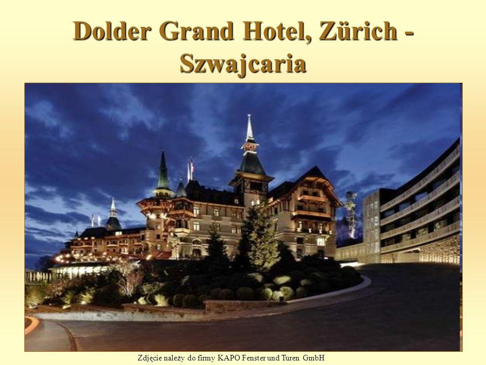 Dolder Grand Hotel, Zürich - Szwajcaria Zdjęcie należy do firmy KAPO Fenster und Turen GmbH