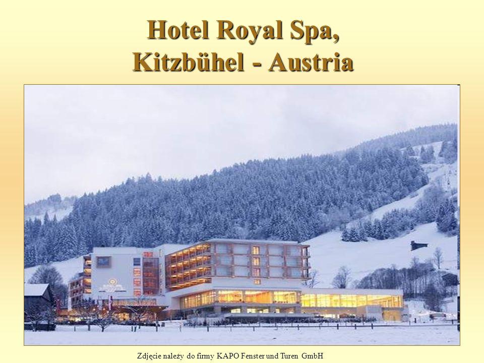 Hotel Royal Spa, Kitzbühel - Austria Zdjęcie należy do firmy KAPO Fenster und Turen GmbH