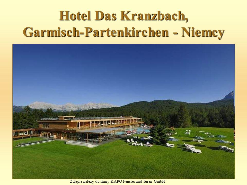 Hotel Das Kranzbach, Garmisch-Partenkirchen - Niemcy Zdjęcie należy do firmy KAPO Fenster und Turen GmbH