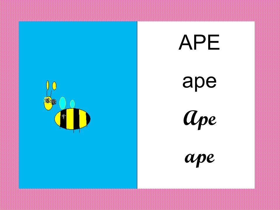 APE ape Ape ape