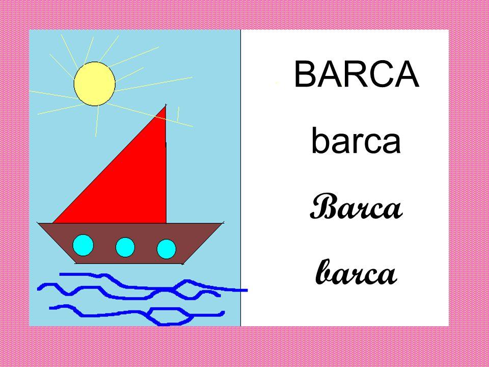 BARCA barca Barca barca