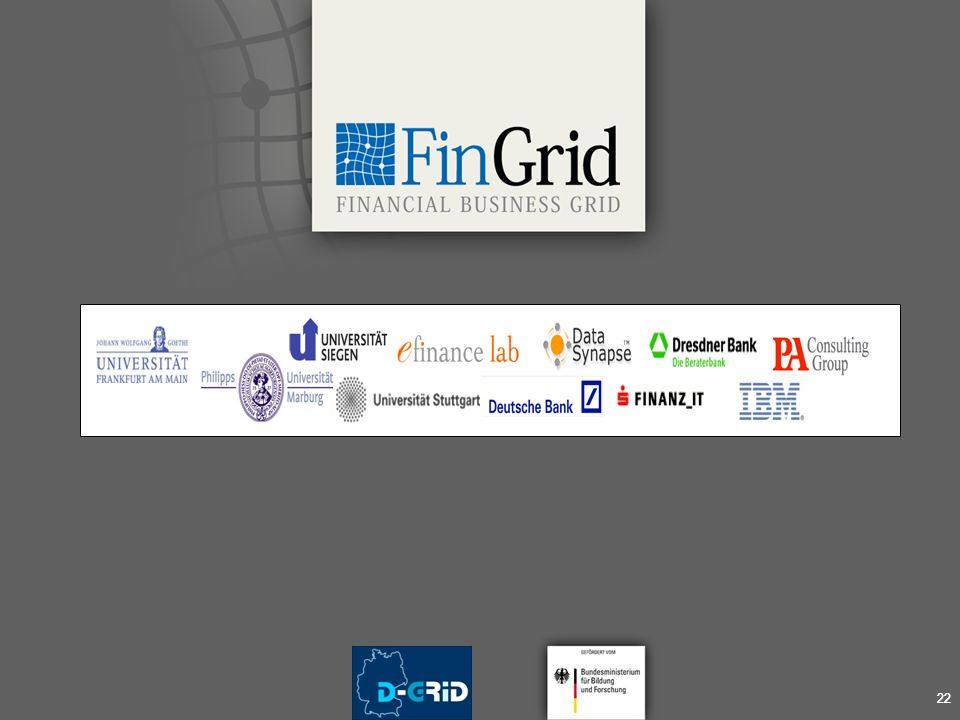 22 Financial Business Grid