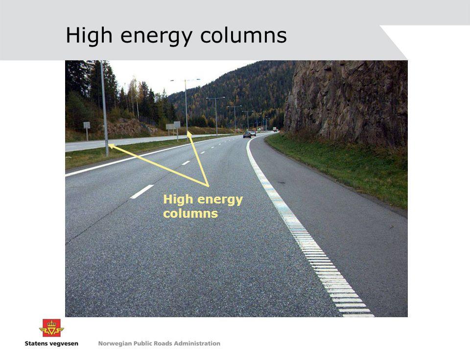 High energy columns