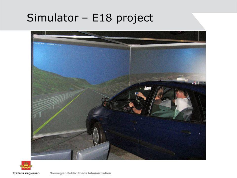 Simulator – E18 project