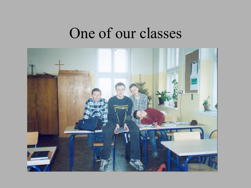 One of our classes