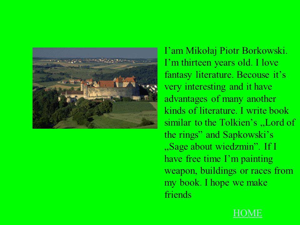 Monika Wi ś niewska Hay! My name is Monika. I live in Milanowek. I am thirteen years old. I like play volleyball and basket ball. I like listen to mus