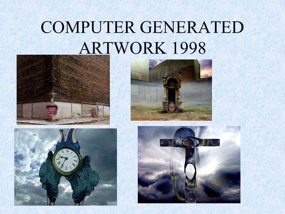 COMPUTER GENERATED ARTWORK 1998
