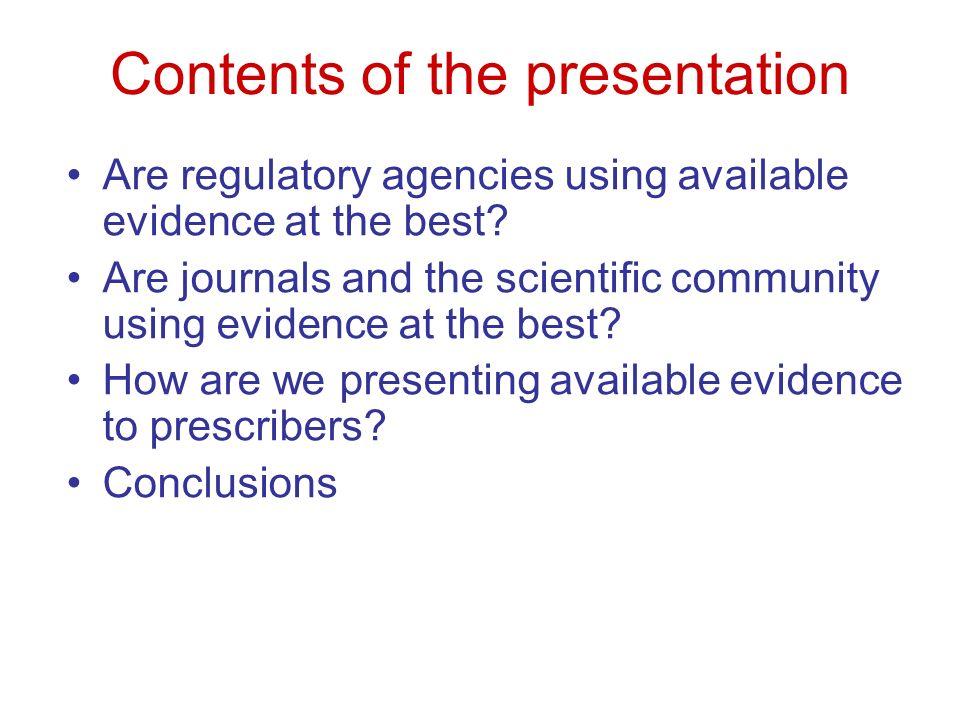 Important achievements … for researchers Clinical evidence & Cochrane SR
