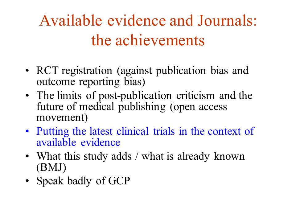 A structured format for discussion section? R. Horton. JAMA 2002