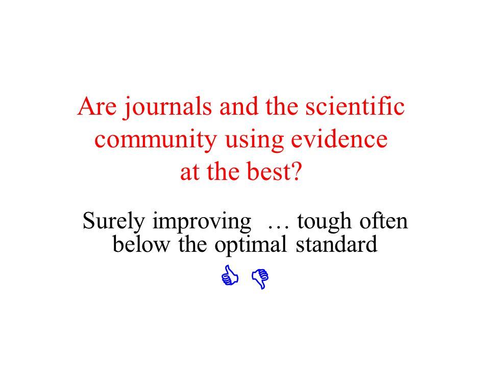GCP: drop them Grimes DA et al. Lancet 2005