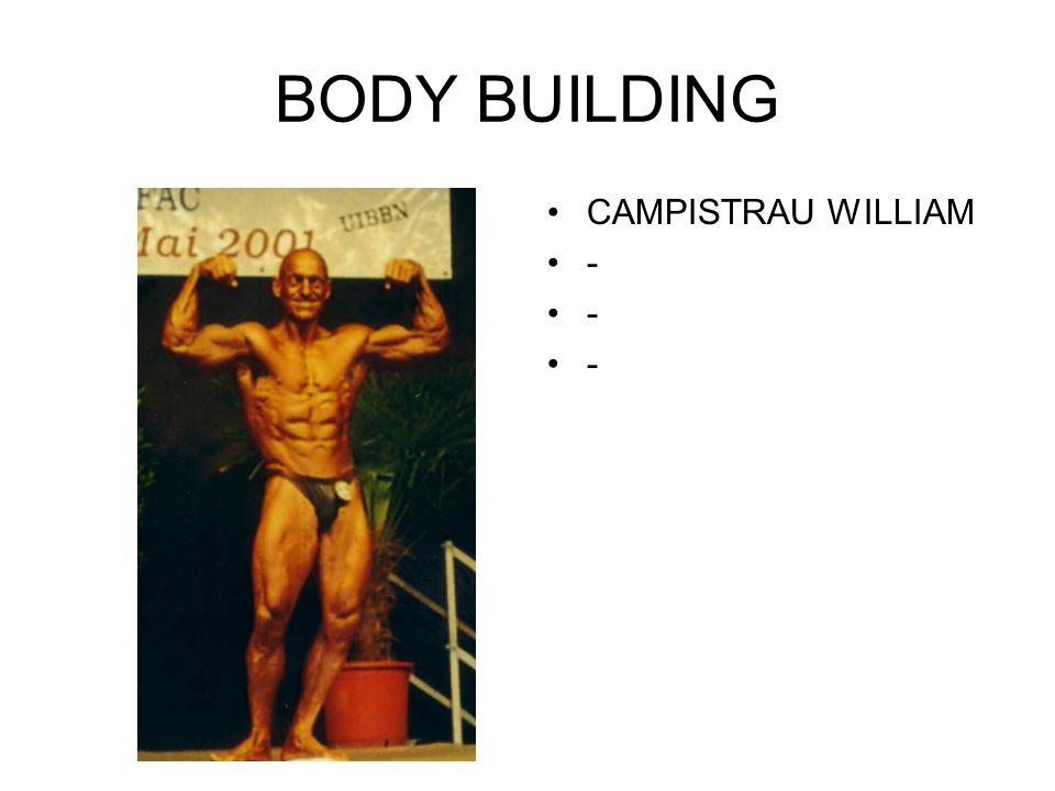 BODY BUILDING CAMPISTRAU WILLIAM -