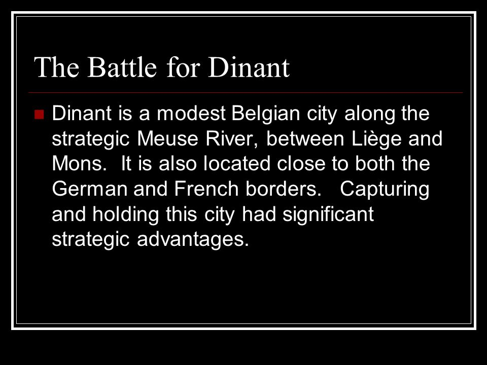 When the battle was over, all 80 men of the French contingent were killed, along with 12 Germans.