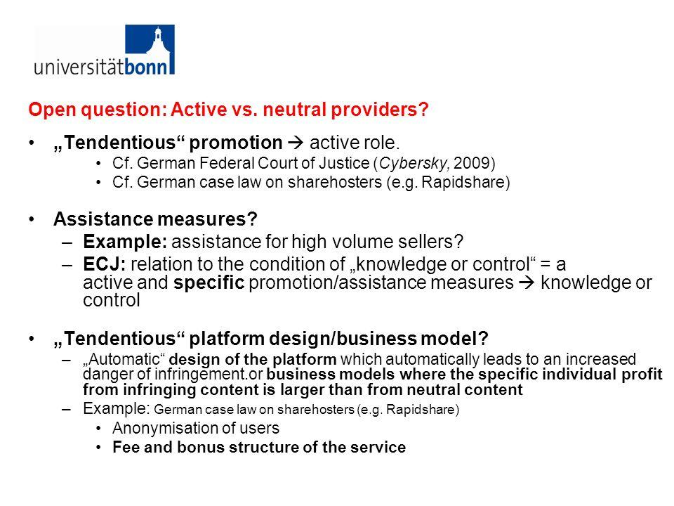 ECJ Case C-324/09 L´Oréal v ebay Ebay as a host provider Art.