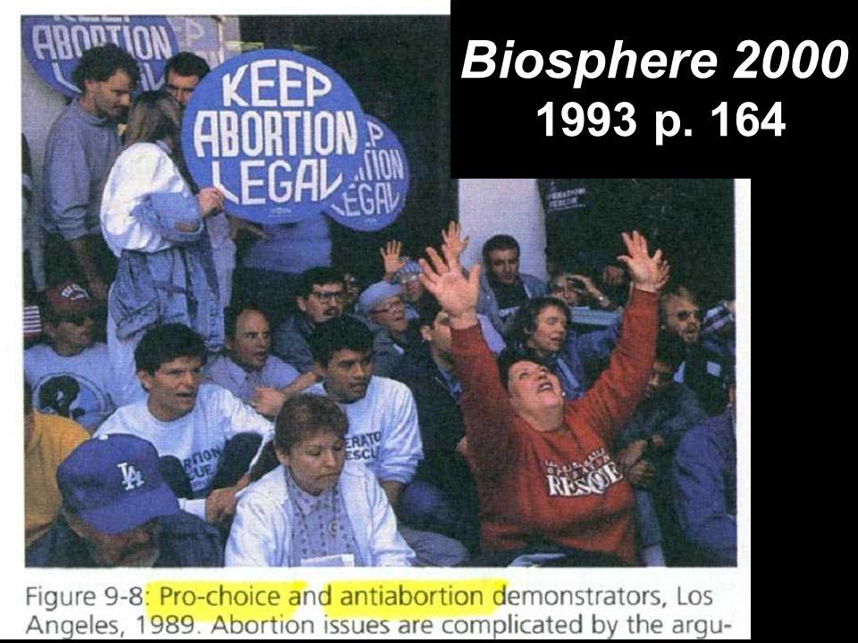 *** Pro choice picture (Biosphere 2000 p.164) Biosphere 2000 1993 p. 164
