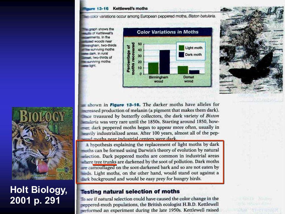 Holt Biology, 2001 p. 291