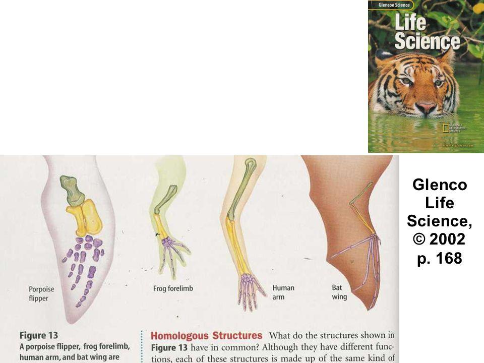 Glenco Life Science, © 2002 p. 168