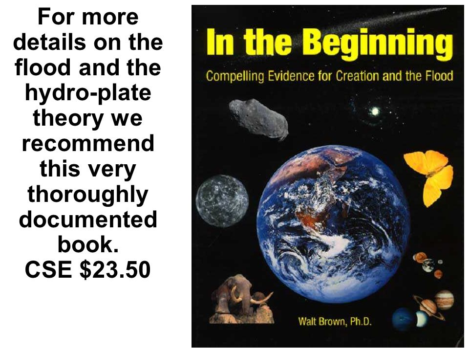 For more details on the flood and the hydro-plate theory we recommend this very thoroughly documented book. CSE $23.50