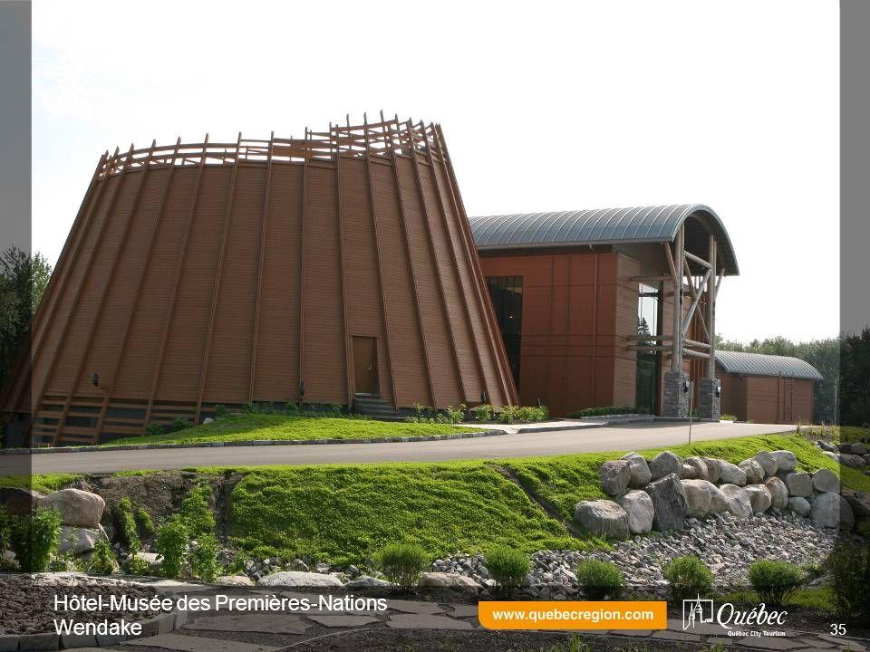 Hôtel-Musée des Premières-Nations Wendake 35