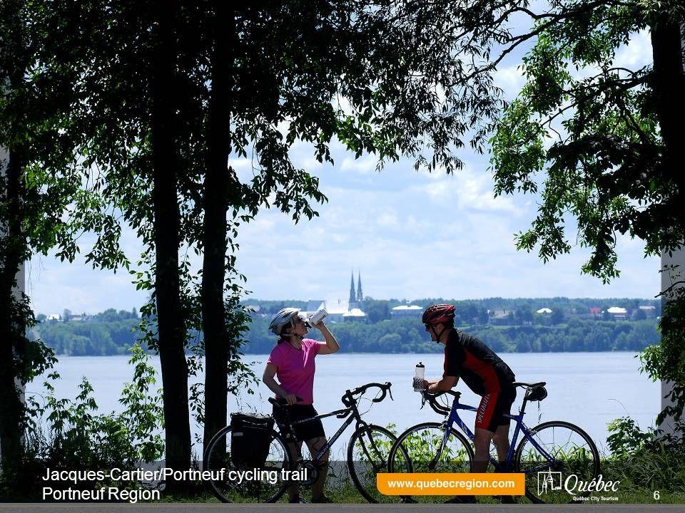 Jacques-Cartier/Portneuf cycling trail Portneuf Region 6