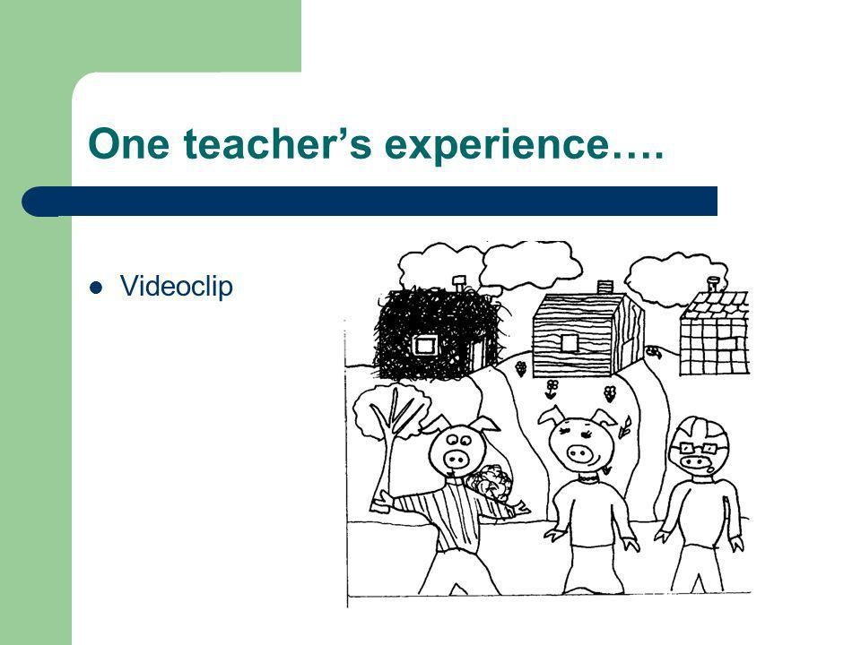 One teachers experience…. Videoclip