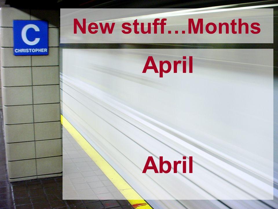 April Abril