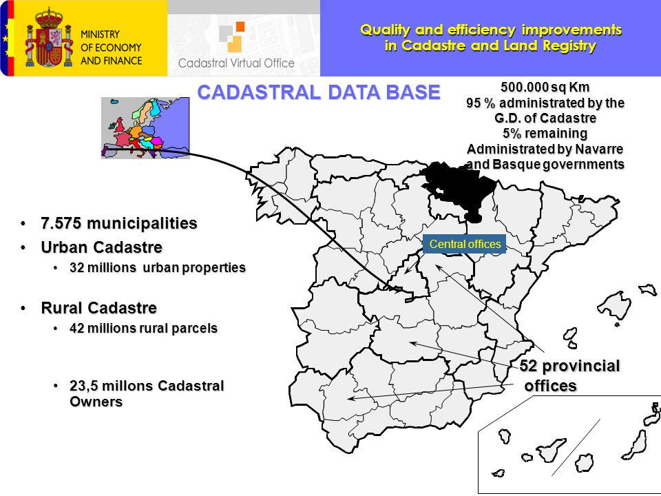 Quality and efficiency improvements in Cadastre and Land Registry THANK YOU VERY MUCH.