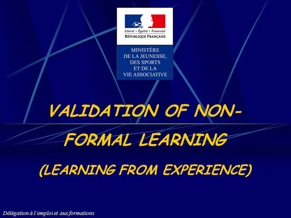 Délégation à lemploi et aux formations 12 The conditions required in order to obtain a diploma through the VAE.