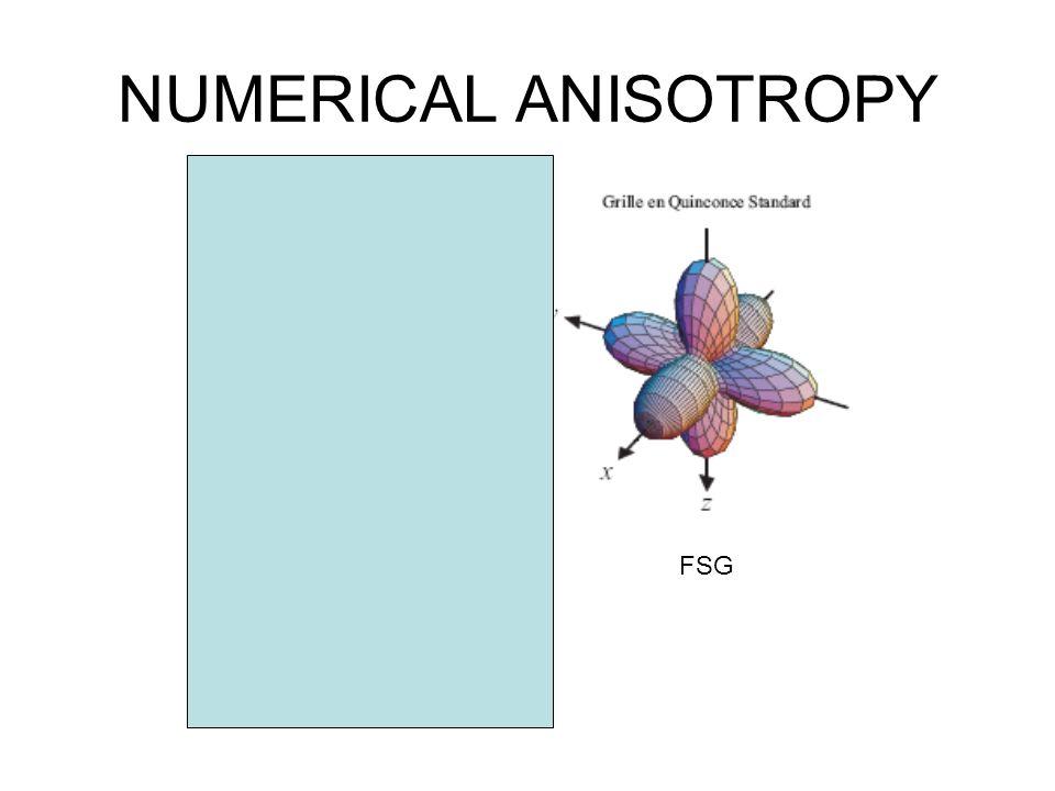 NUMERICAL ANISOTROPY PSG FSG COMBINE ?
