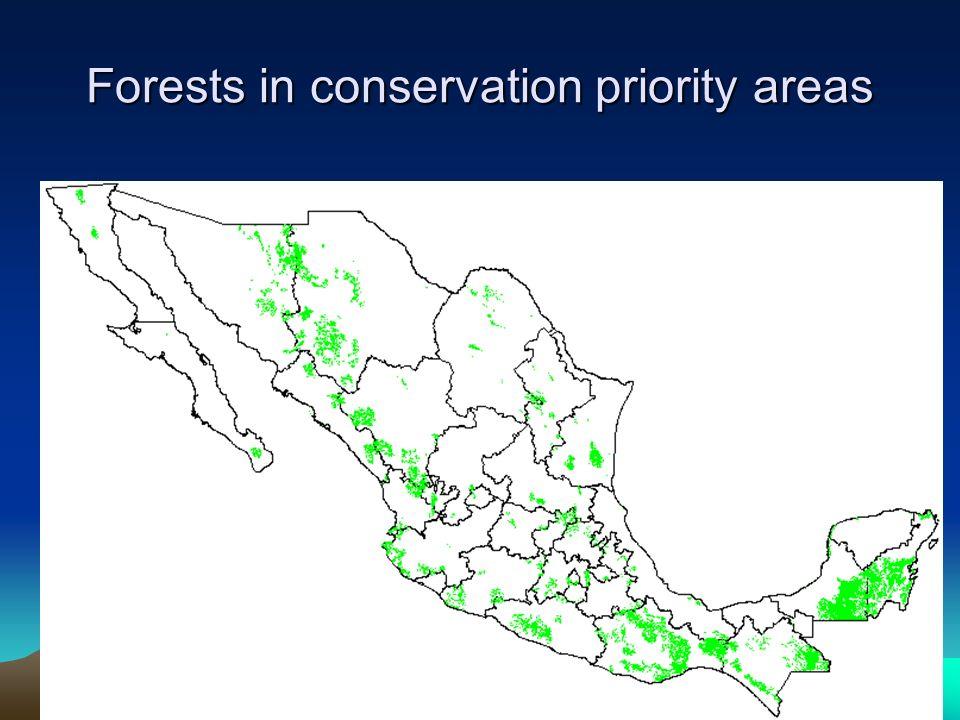 Conservation priority terrestrial regions CONABIO