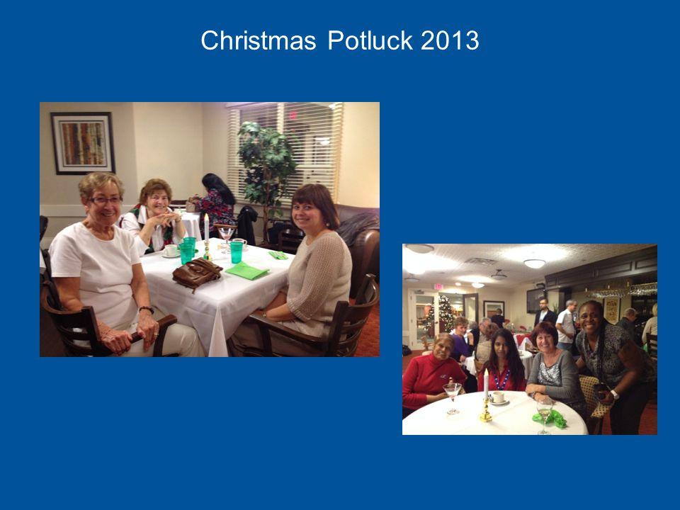 Christmas Potluck 2013