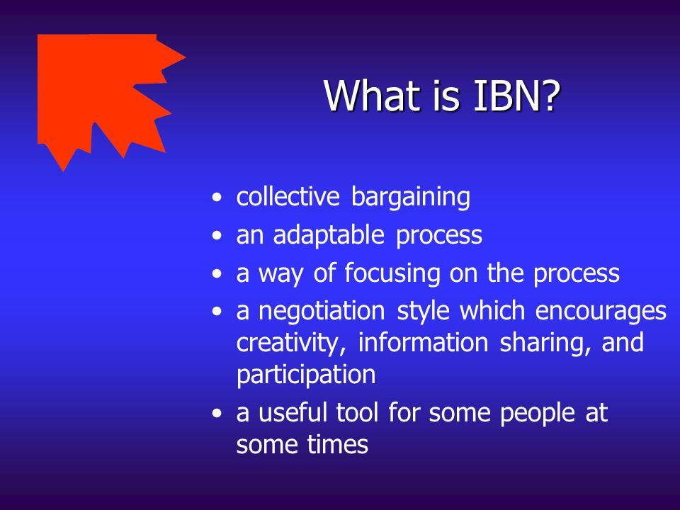 What IBN is not .