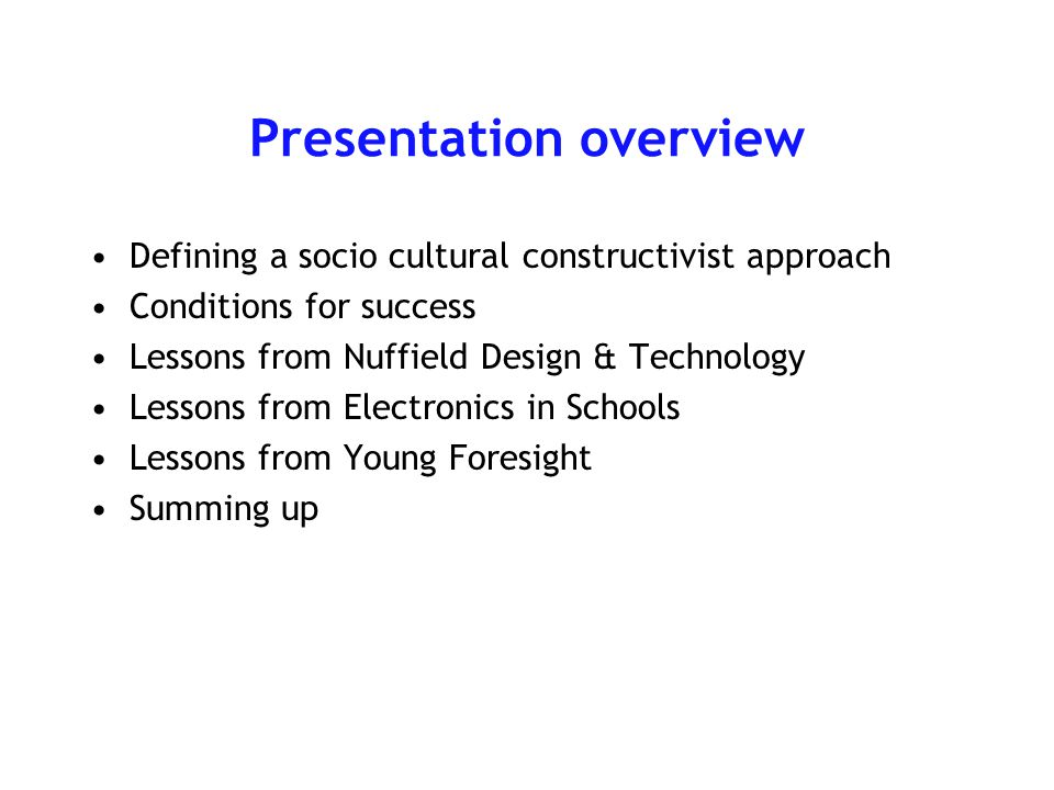 Lessons from Electronics in Schools ConceptualTechnicalAestheticConstructionalMarketing BIG Task 1Pupil or teacher.