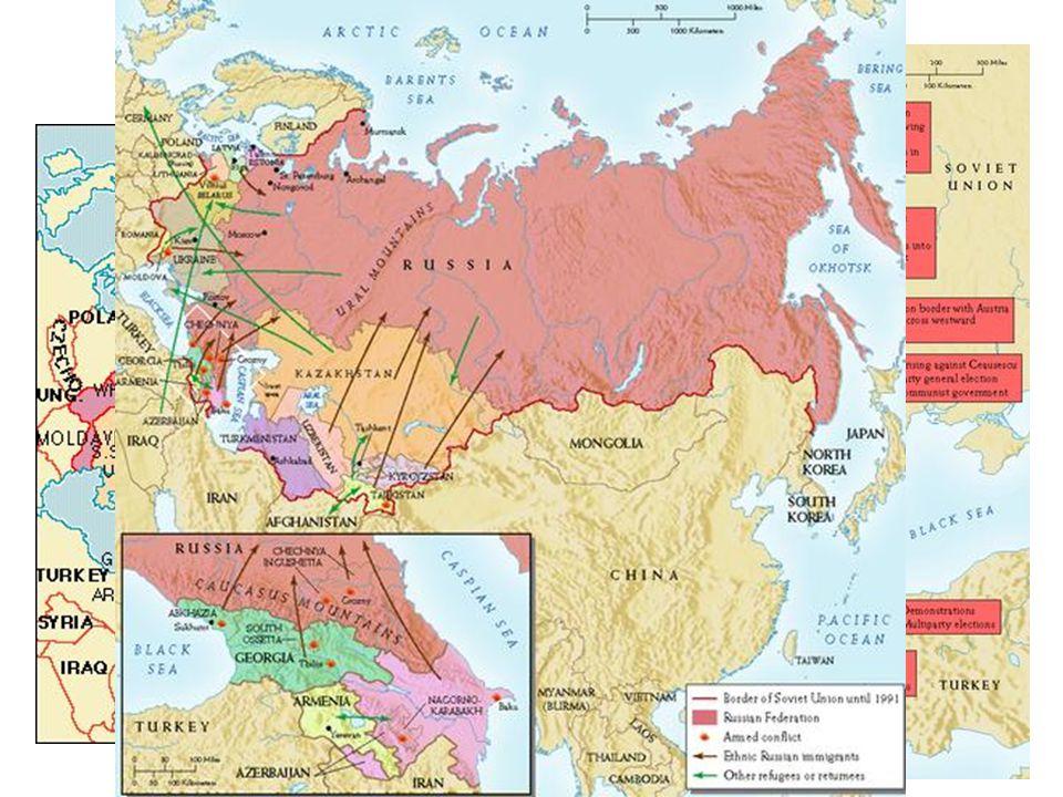 Break up of USSR