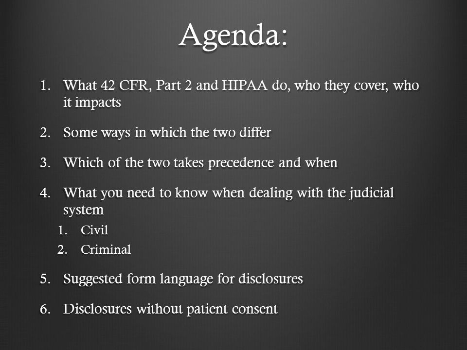 HIPAA-permitted Disclosures, Government & Other Purposes As required by other laws As required by other laws Public health activities Public health activities Victims of abuse, etc.