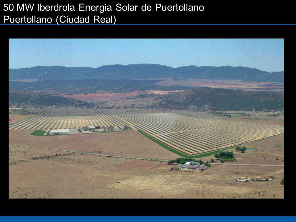 50 MW Iberdrola Energia Solar de Puertollano Puertollano (Ciudad Real)