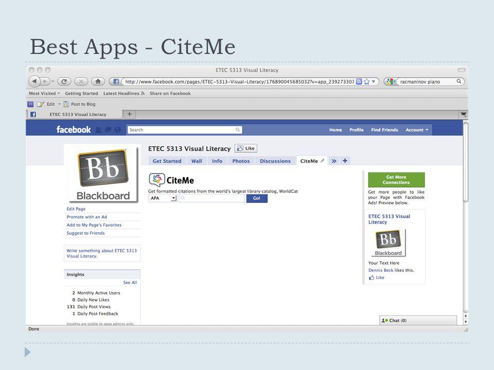 Best Apps - CiteMe