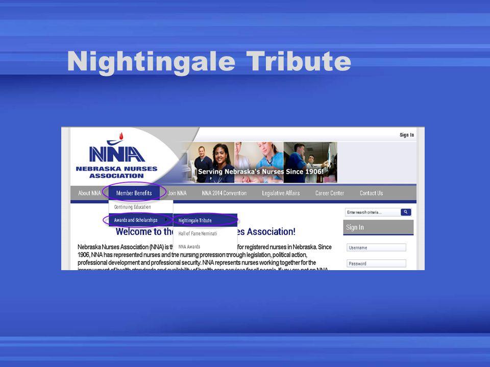 Nightingale Tribute